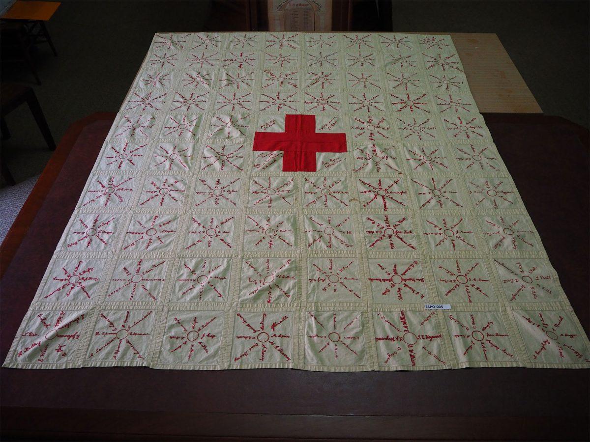 Red Cross. Hindmarsh: Quilt