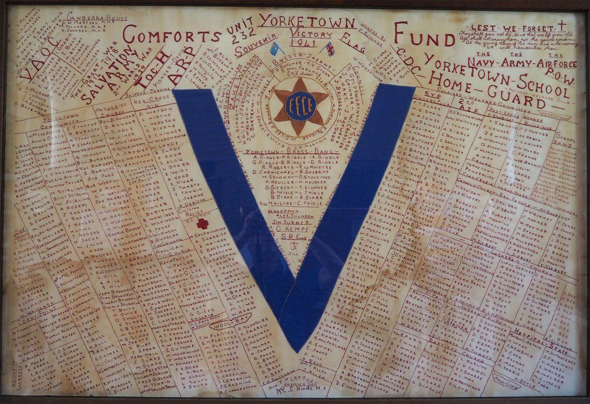 FFCF. Yorketown Unit 232: Banner