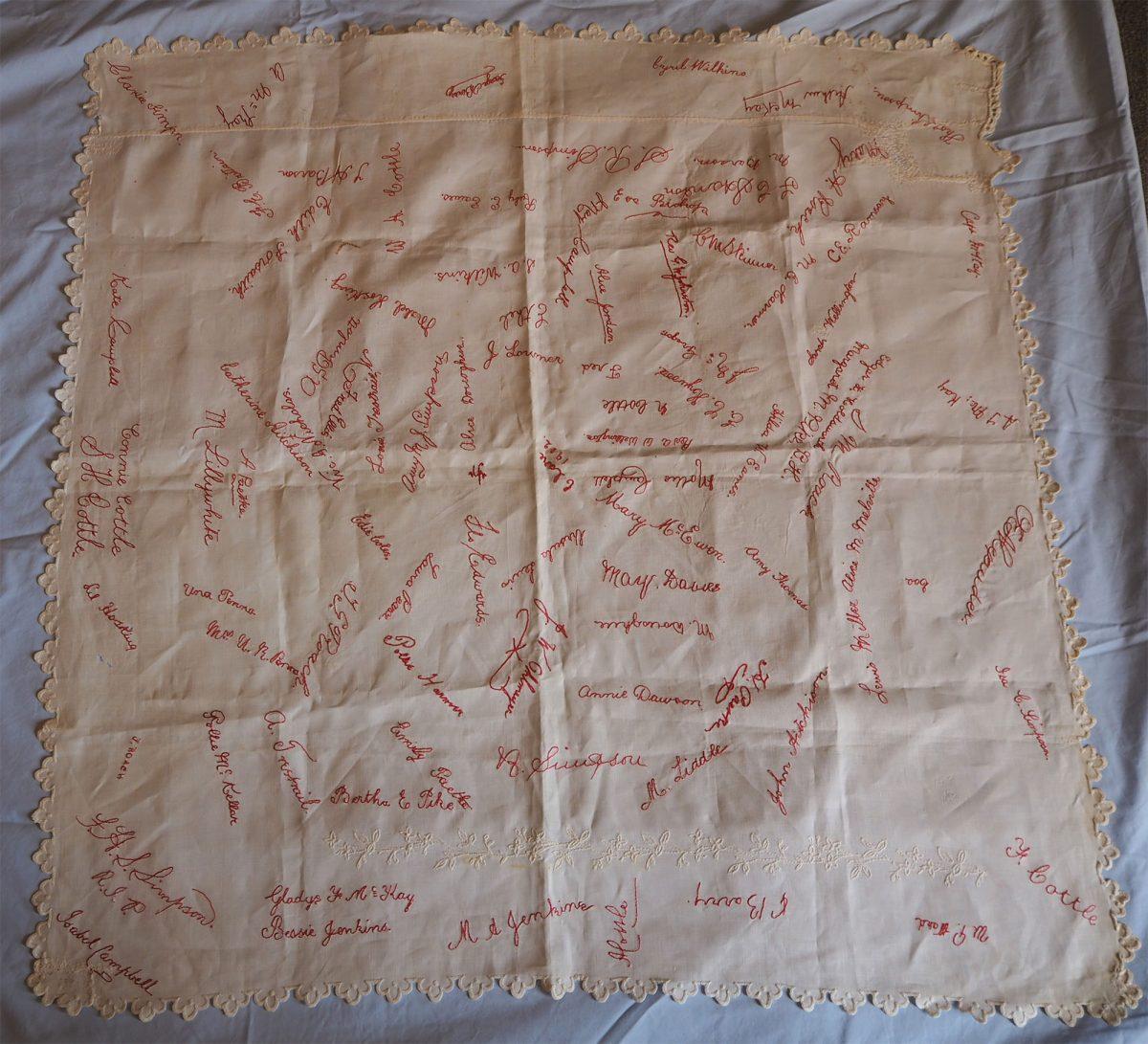 Clare 1902: Cloth