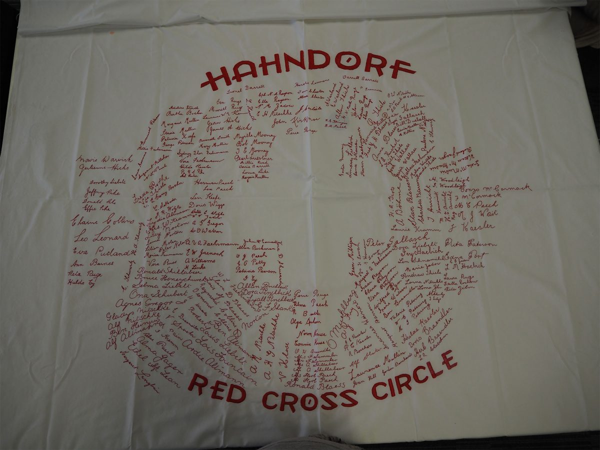 Red Cross. Hahndorf Red Cross Circle: Cloth