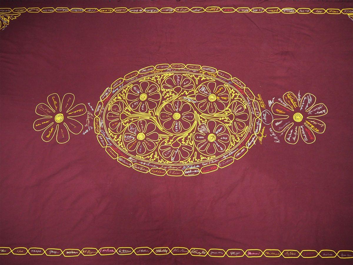 Port Adelaide Wesleyan Church Rainbow Festival 1896: Cloth