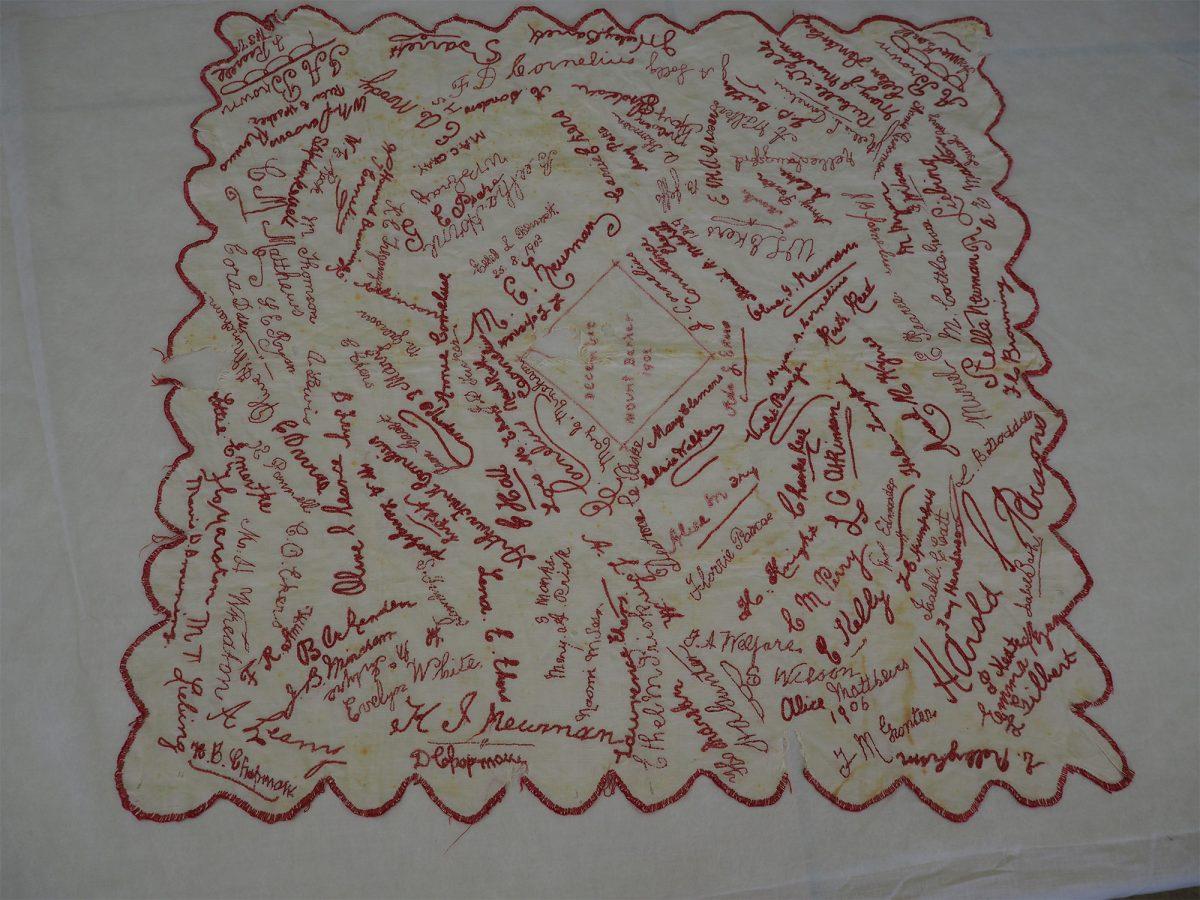 Mount Barker December 1902: Cloth
