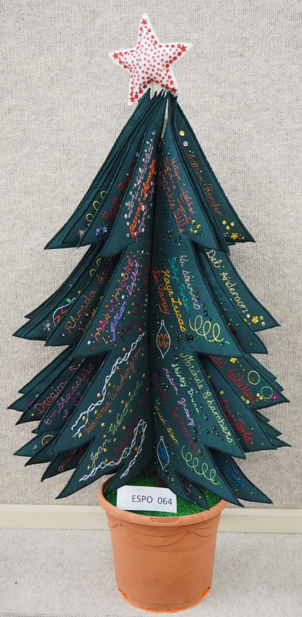 Embroiderers' Guild of South Australia: Christmas Tree