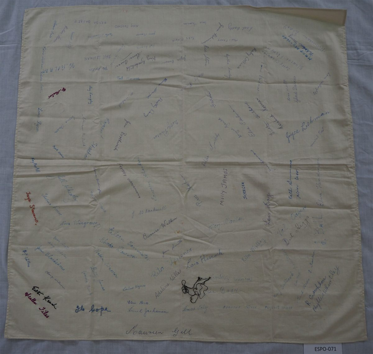 SACWA. Spalding Branch: Cloth